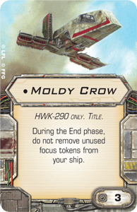 Hangar de l'alliance rebelle Moldy-crow